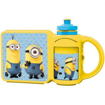 Lunchbox+Drinkfles Minions