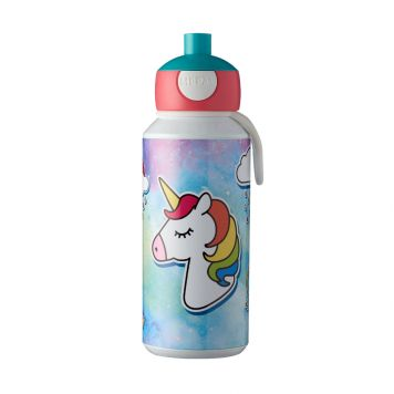 Mepal Drinkfles Pop-Up Unicorn 400 ml
