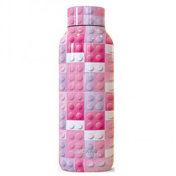 Quokka Thermofles Pink Bricks 510 ML