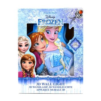Frozen Wall Light 3D