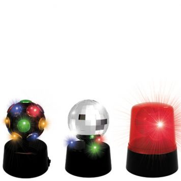 Partyset Mini Met 3 Lampen