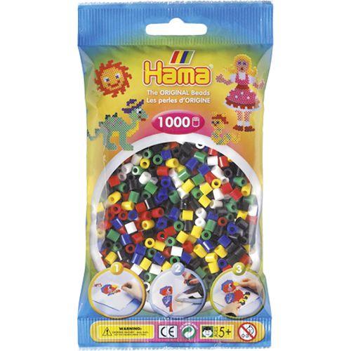 Strijkkralen Hama 1000 Stuks Assorti 1