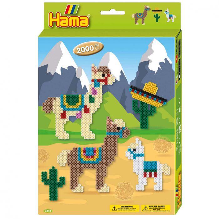 Strijkkralen Hama Alpacas 2000 Delig