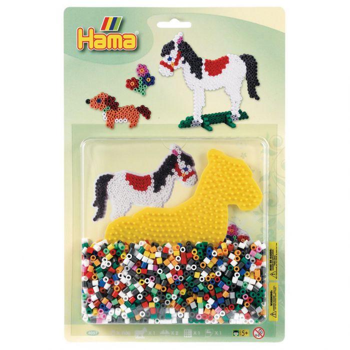 Strijkkralen Hama Paard/Hond 1100 Stuks