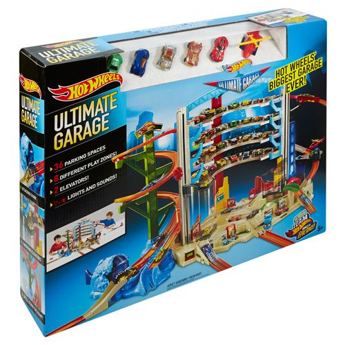 Hot Wheels Mega Grote Garage