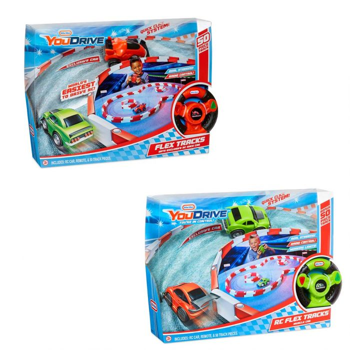 Little Tikes R/C You Drive Flex Tracks Assorti
