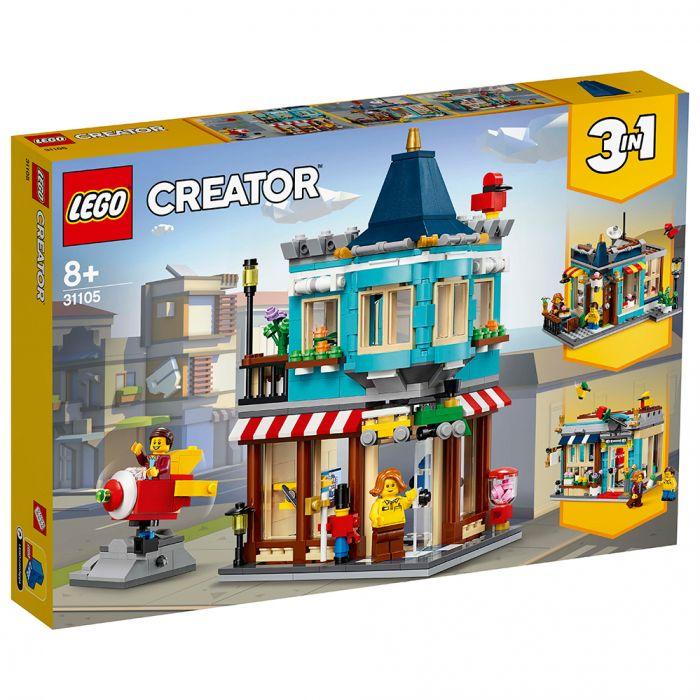 LEGO Creator 31105 Woonhuis En Speelgoedwinkel