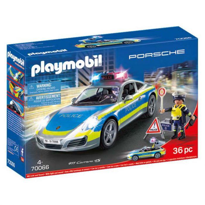 PLAYMOBIL 70066 PORSCHE 911 CARRERA 4S POLITIE WIT