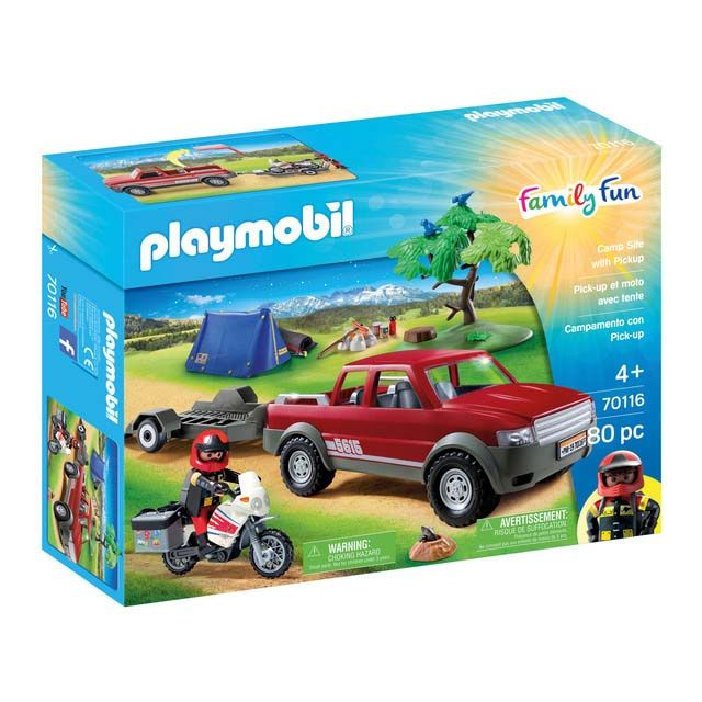 PLAYMOBIL 70116 PICK- UP ADVENTURE