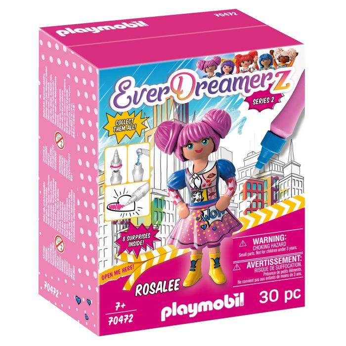 Playmobil 70472 Everdreamerz Comic World Rosalee
