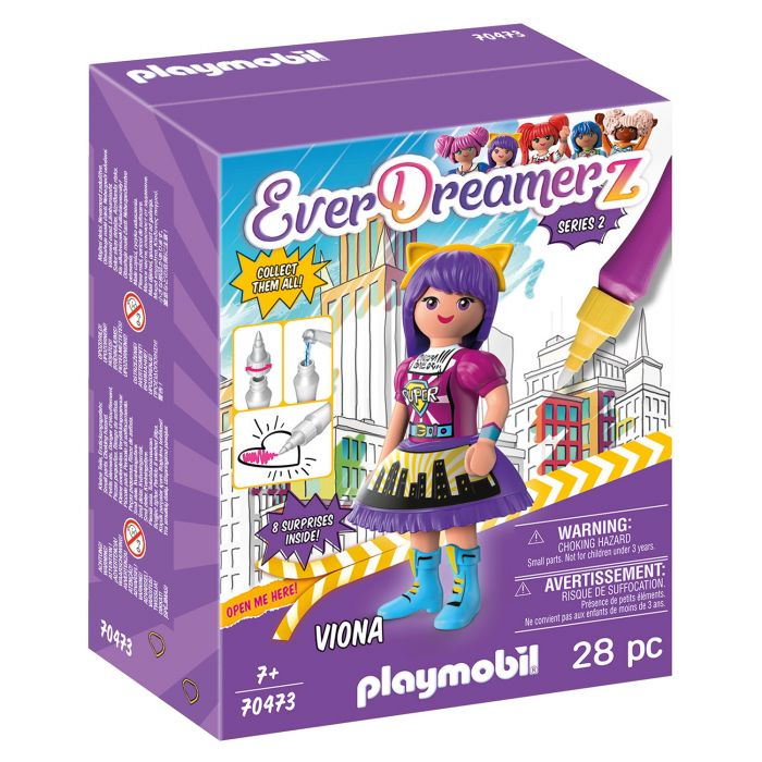 Playmobil 70473 Everdreamerz Comic World Viona