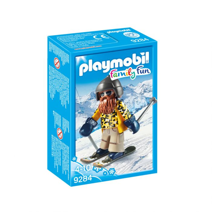 Playmobil 9284 Skier Op Snowblades