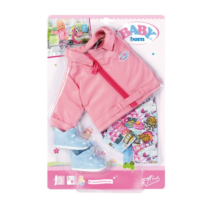 Baby Born City Deluxe Scooter Outfit 43 Cm - Top1Toys