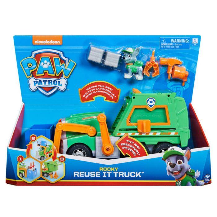 PAW Patrol Rockys Re Use It Truck Rocky