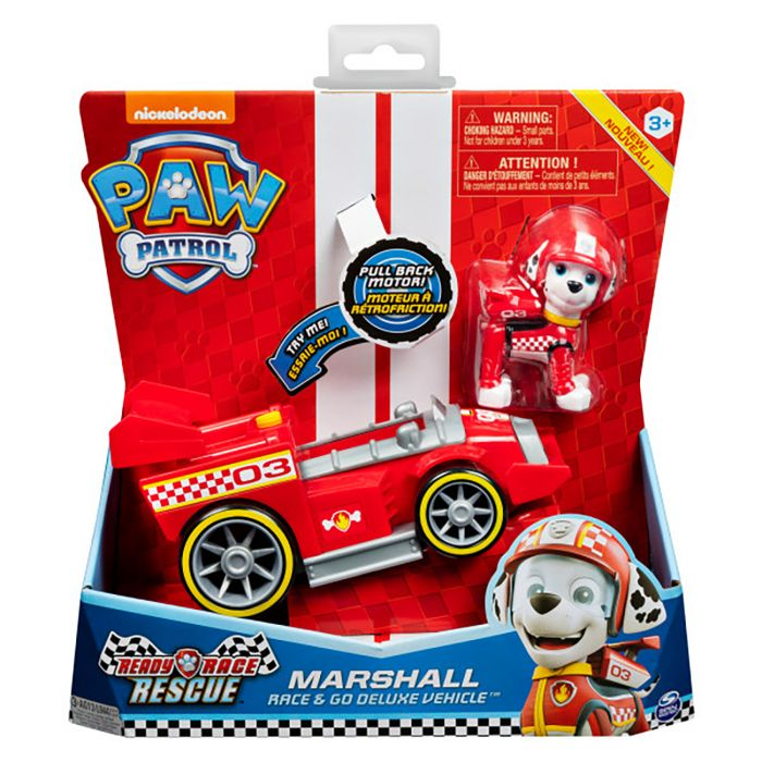Paw Patrol Race Themed Vehicle Marshall
