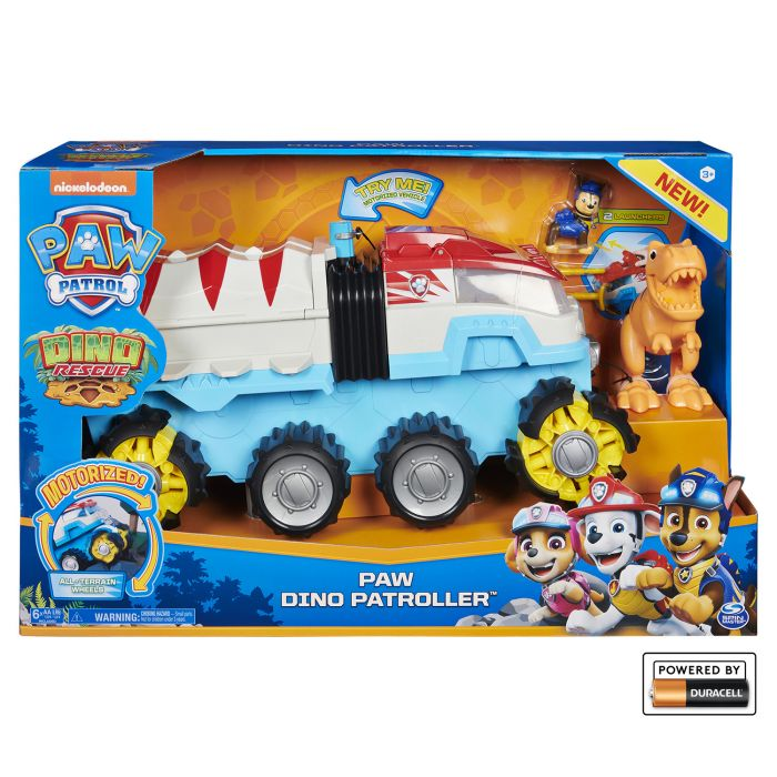 Paw Patrol Dino Rescue Team Vehicle Dino Patroller
