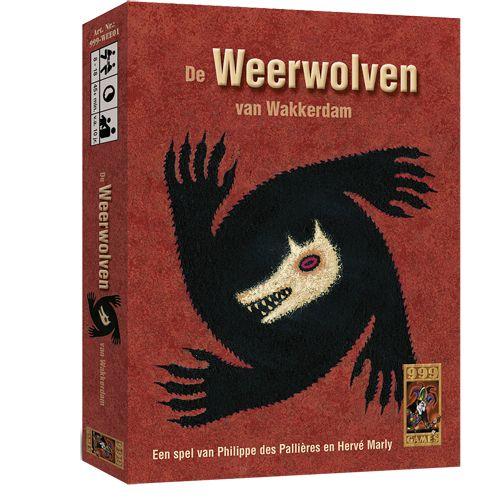 Kaartspel De Weerwolven Van Wakkerdam
