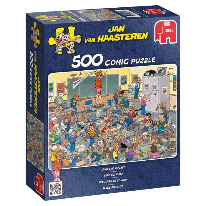 Puzzel Jan Van Haasteren Vang De Muis 500 Stukjes