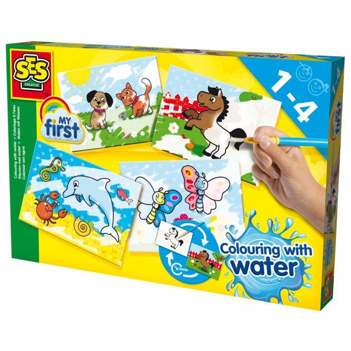 Verfset SES My First Kleuren Met Water