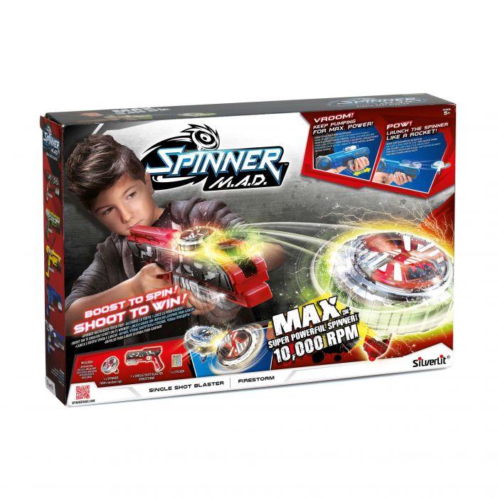 Spinner MAD Single Shot Blaster Rood