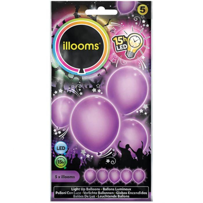Illooms Purple 5 Pack