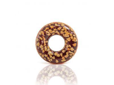 Zwemring Donut Chocolade 114 Cm