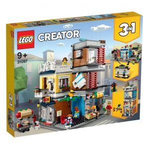 LEGO Creator 31097 Woonhuis, Dierenwinkel En Café