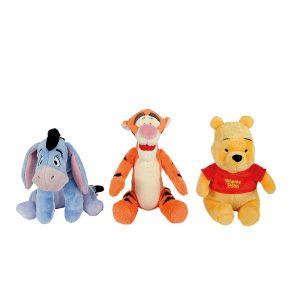 Pooh Winnie En Vriendjes 25 Cm 3 Assorti