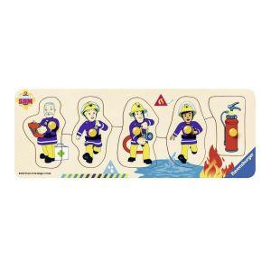 Puzzel Brandweerman Sam 5 Stukjes