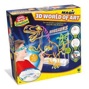 3D Tekenbord Dinosaurus