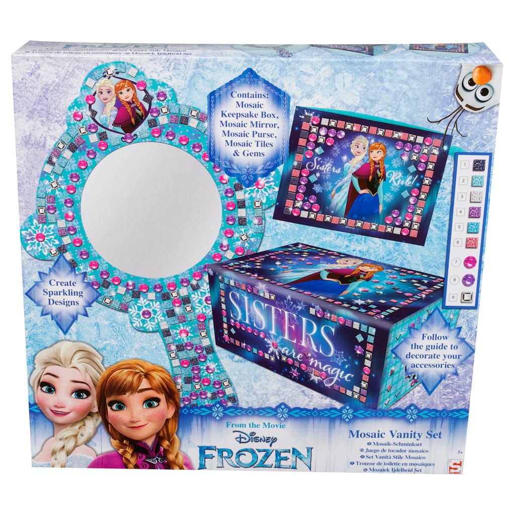 Afbeelding van Mozaik Spiegelset Disney Frozen