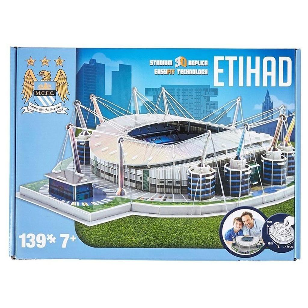 Afbeelding van 3D Puzzel Stadion Engeland Etihad (Manchester City)
