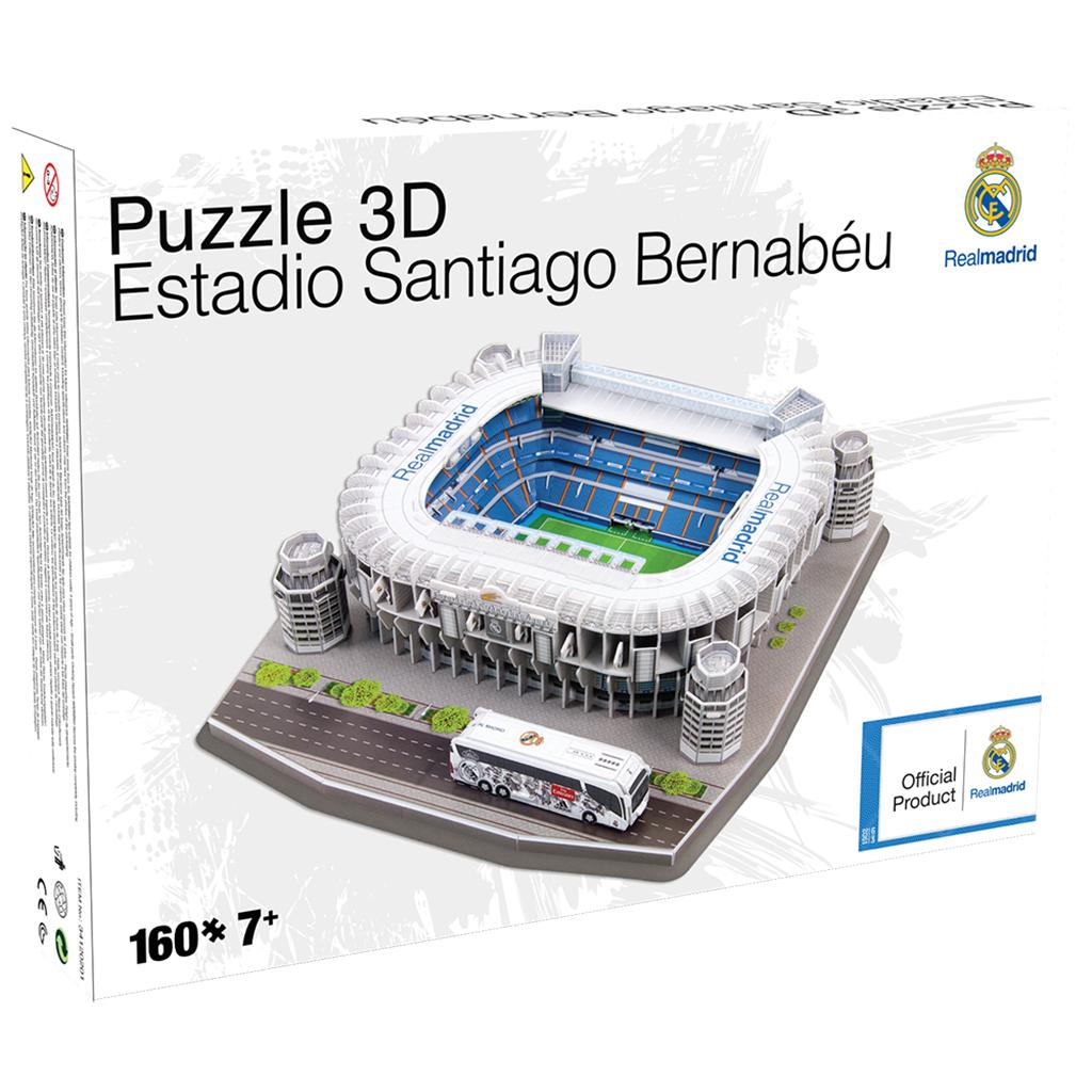 Afbeelding van Puzzel Stadion Spanje Santiago Bernabeu (Real Madrid) ±40x38x10cm 160 Delig