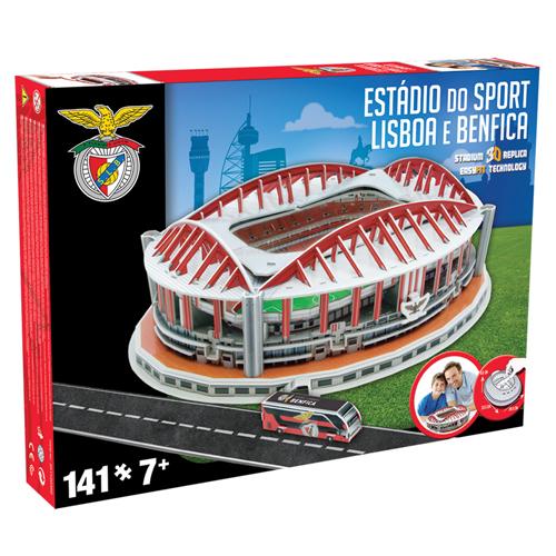 Afbeelding van 3D Puzzel Stadion Estadio Da Luz Benfica 141-delig