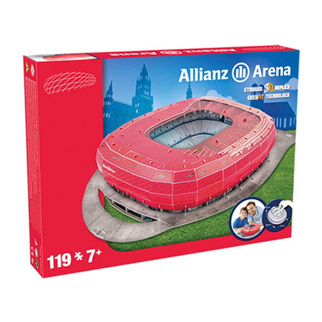Afbeelding van Puzzel Stadion Duitsland Allianz Arena (Bayern Munchen)