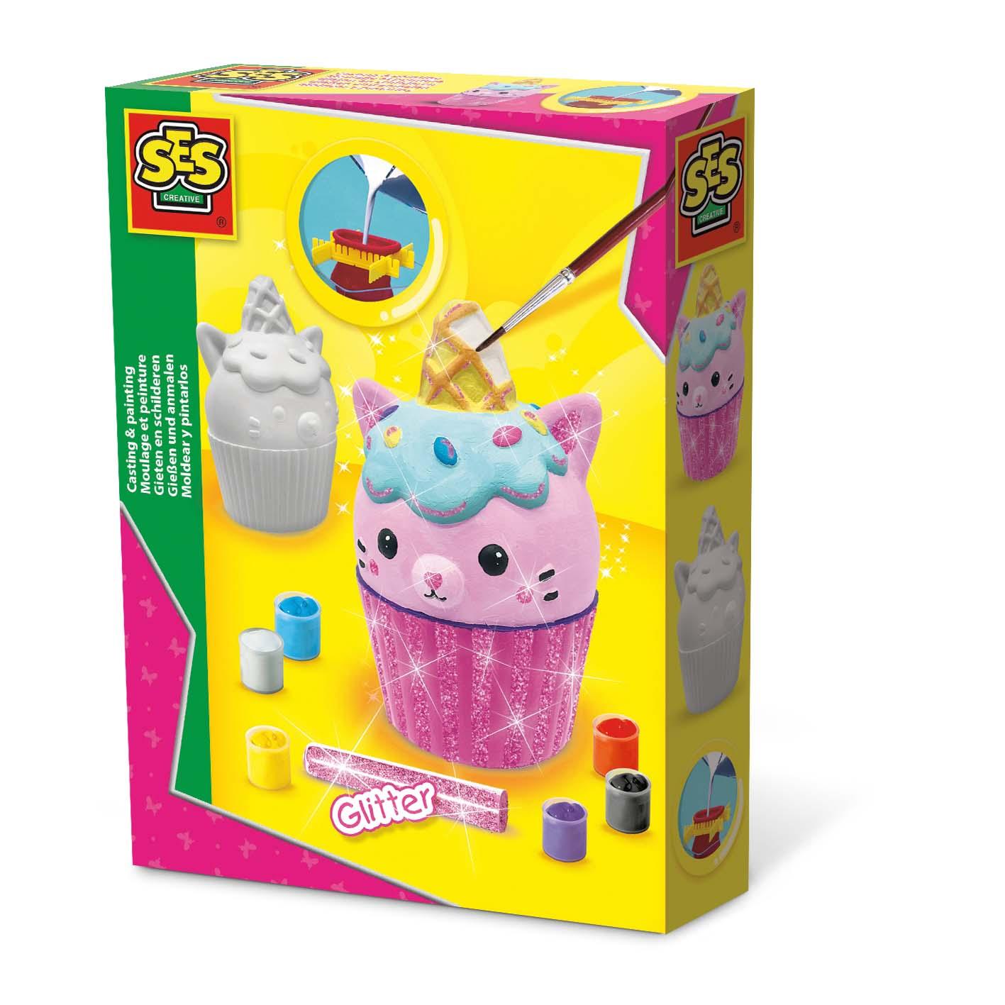 Afbeelding van Ses Gips Gieten En Schilderen - Unikitty Cupcake