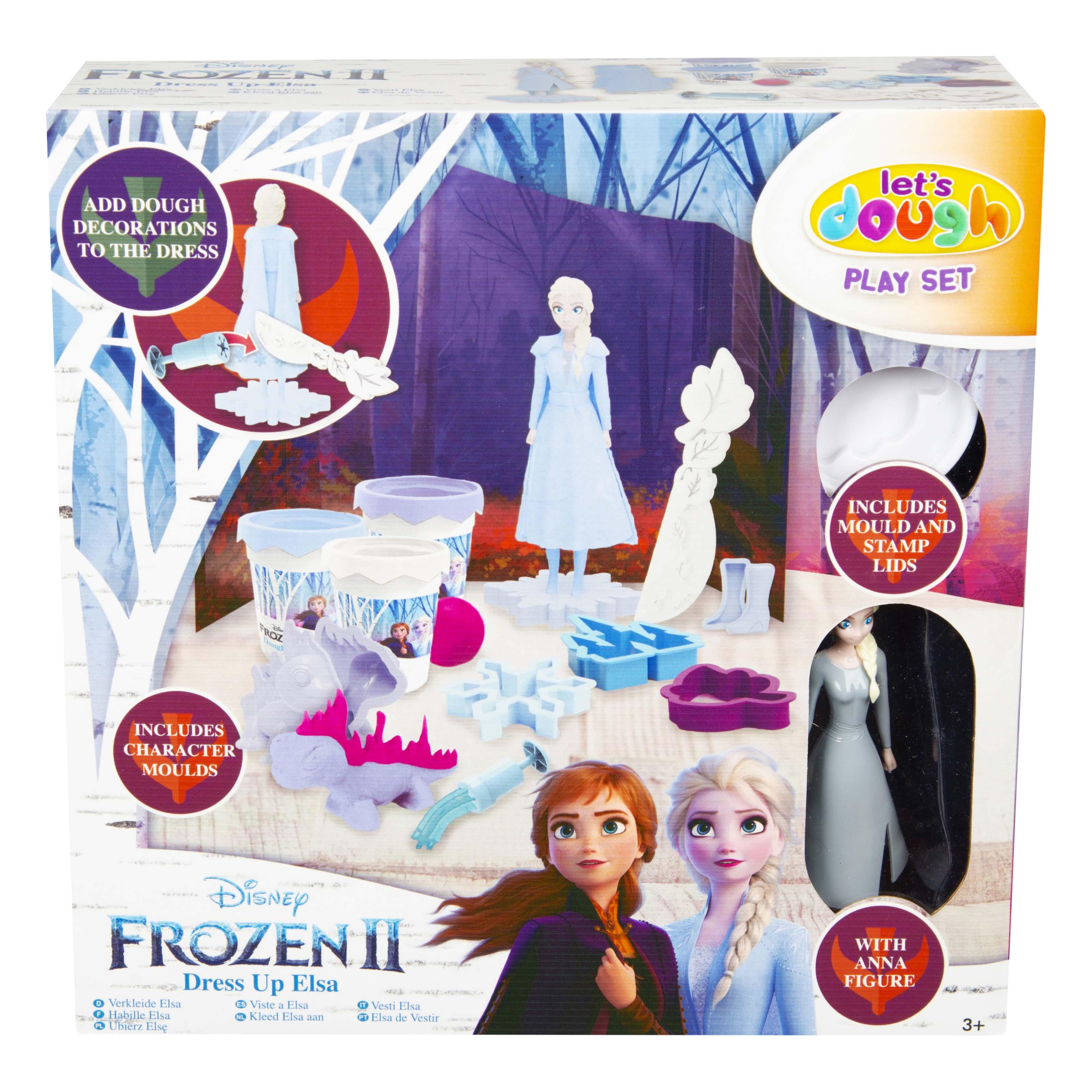 Afbeelding van Dough Scene Elsa Disney Frozen 2