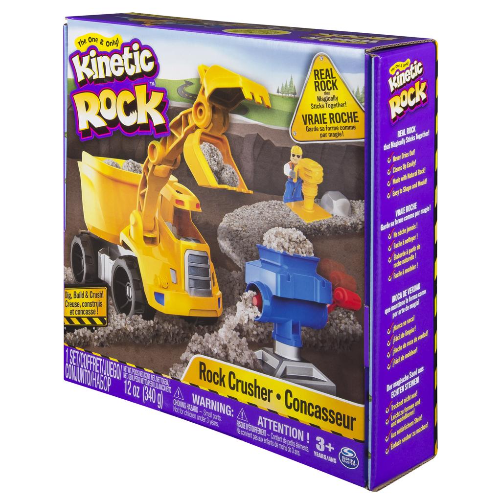 Afbeelding van Kinetic Sand Rock Crusher Playset