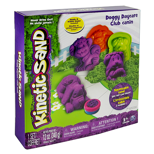 Afbeelding van Speelzand Kinetic Sand Doggy Daycare Set 340 Gram