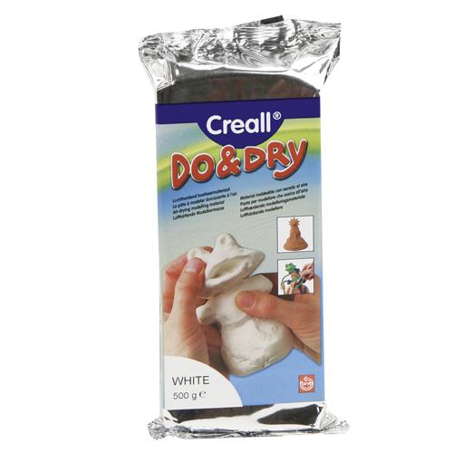 Afbeelding van Boetseerklei Creall Wit 0,5kg