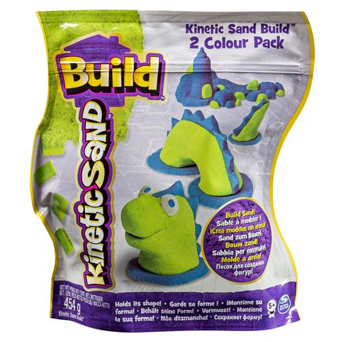 Afbeelding van Kinetic Sand Build 2 Color Pack