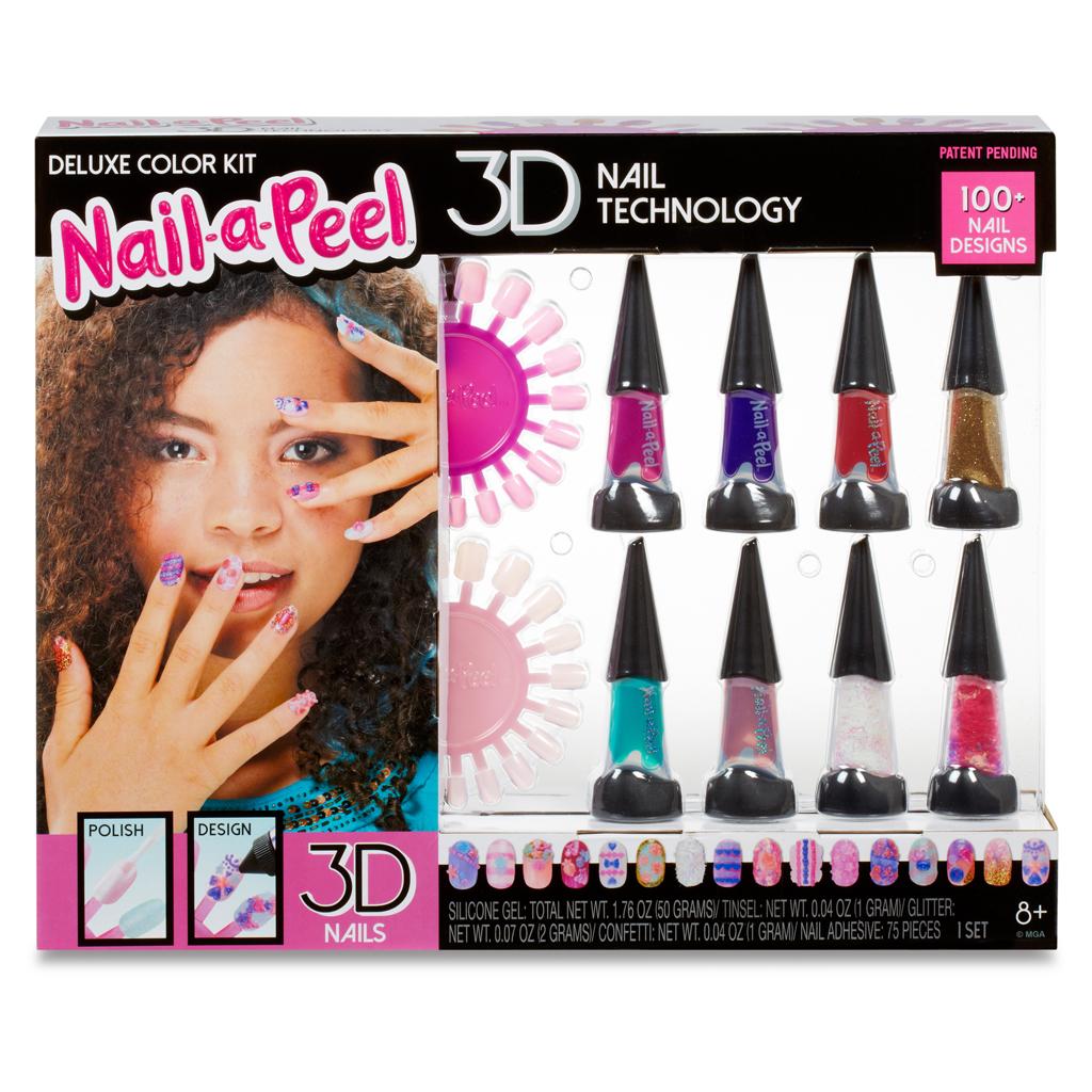 Afbeelding van Nail-A-Peel Deluxe Color Kit