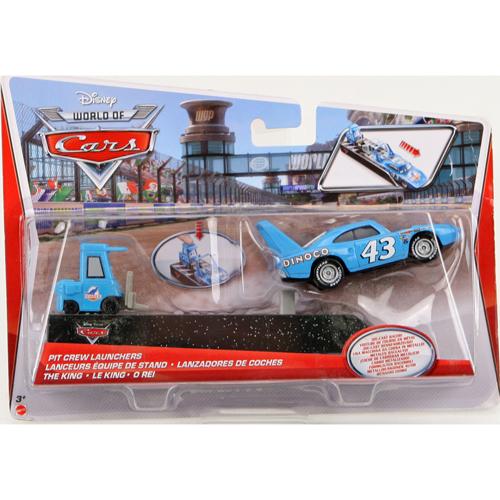 Afbeelding van Auto Disney Cars Pit Crew Set Assorti