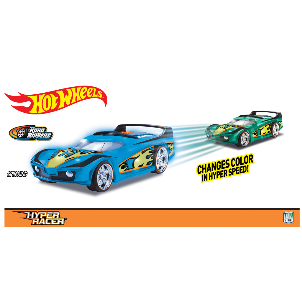 Afbeelding van Hot Wheels Hyper Racer Spin King