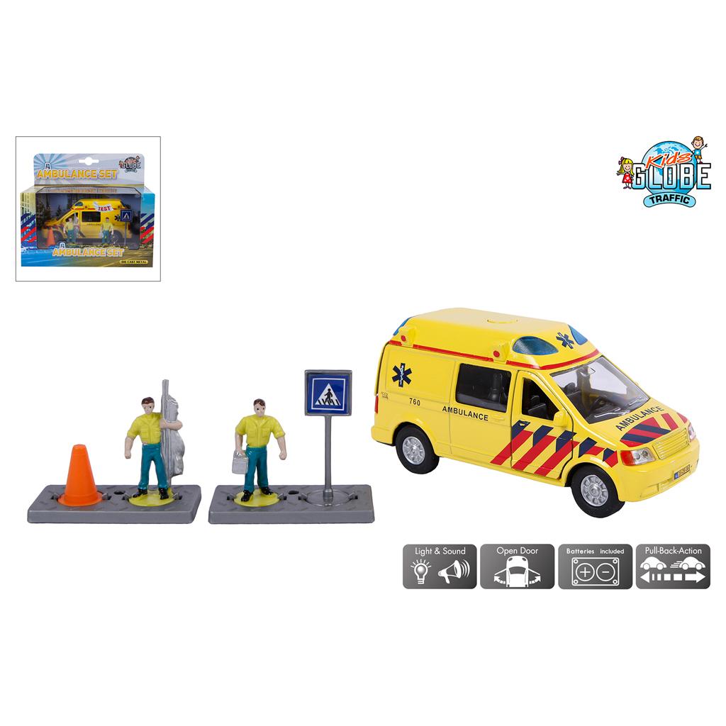 Afbeelding van Auto Ambulance Met Figuren