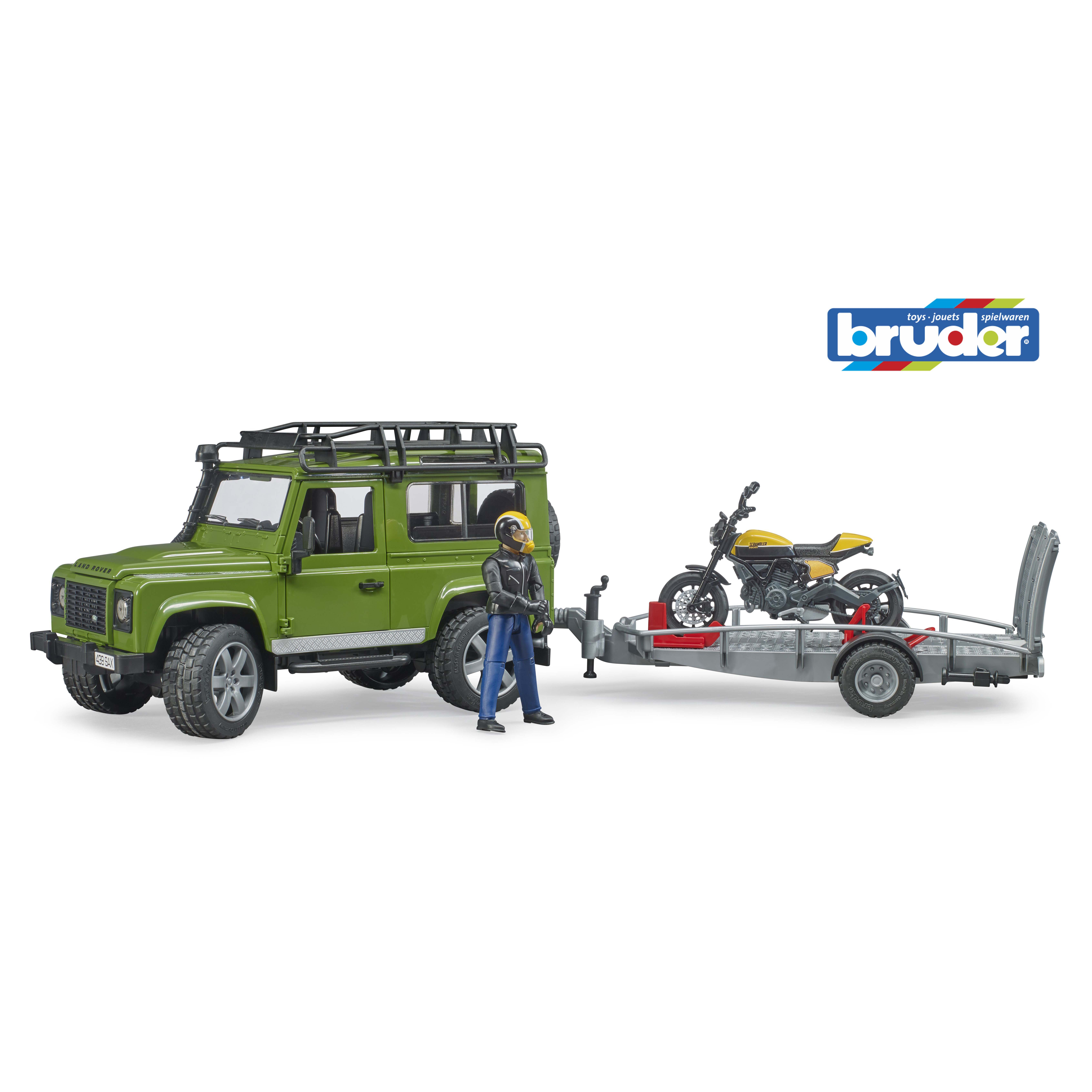 Afbeelding van Auto Landrover Met Motor