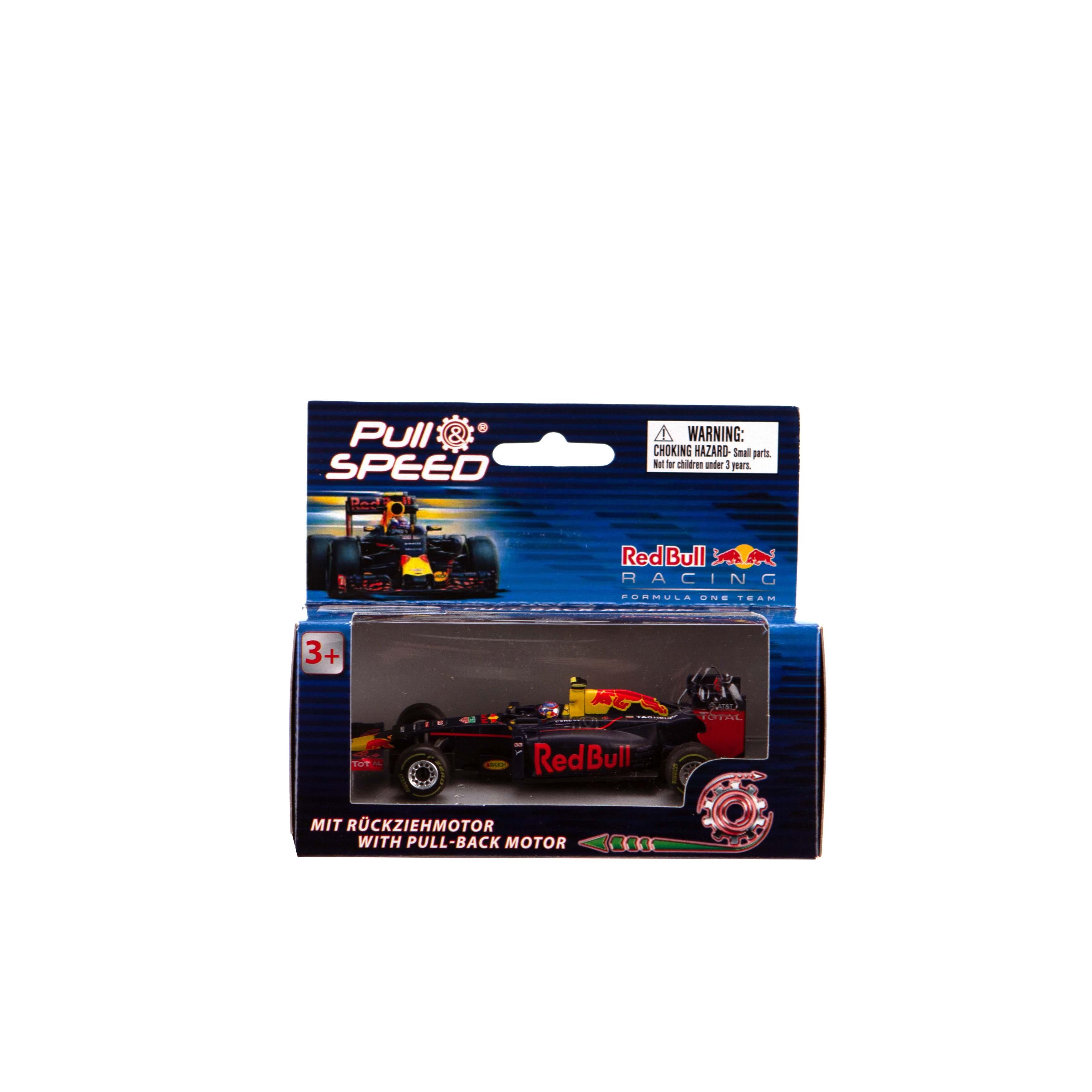 Afbeelding van Auto Carrera GO Max Verstappen RB 14 1:43 Pull Back