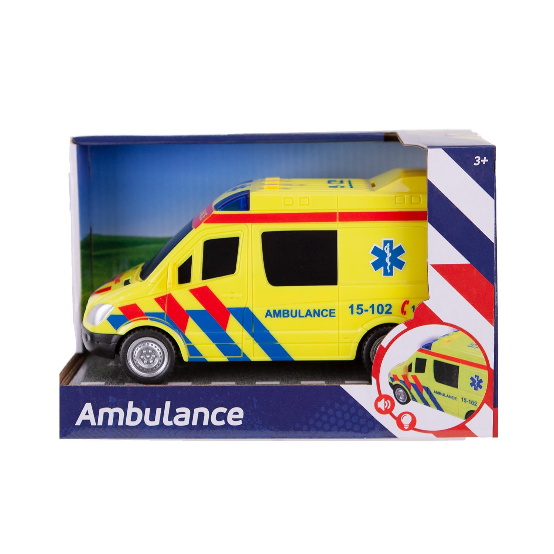 Afbeelding van Ambulance Auto Met Licht En Geluid