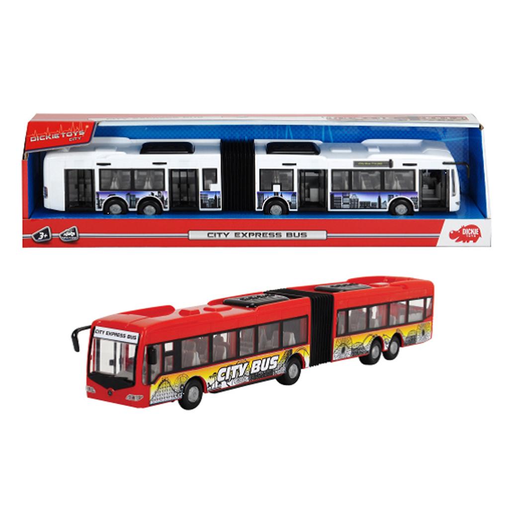 Afbeelding van Autobus Dickie Toys City Express 2 Assorti