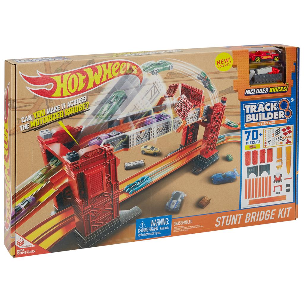 Afbeelding van Hot Wheels Track Builder Brug Stunt Kit
